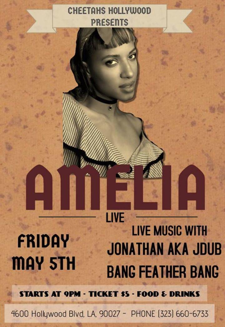 Amelia Harris Tour Dates