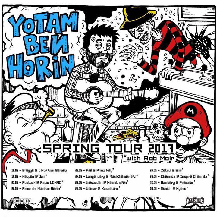 Yotam Ben Horin Tour Dates