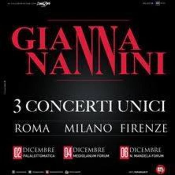 Gianna Nannini Tour Dates