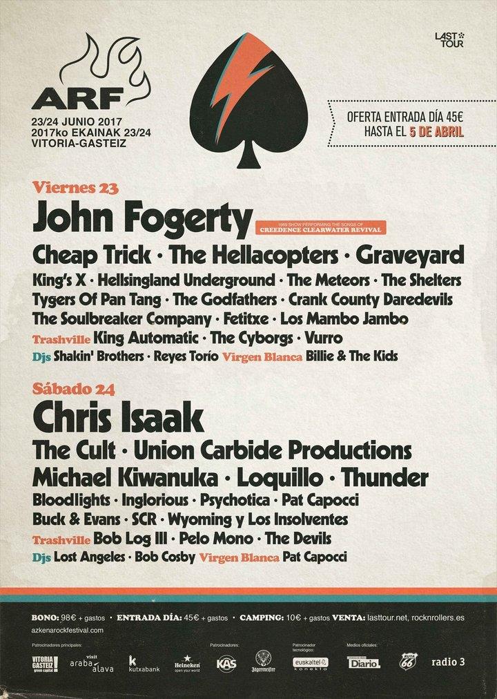 Bob Log III @ Azkena Festival - Vitoria, Spain