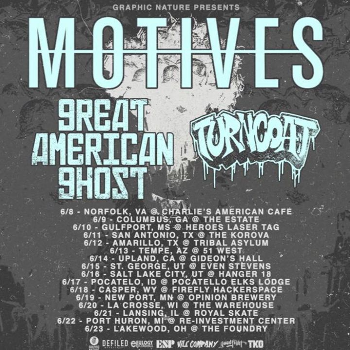 Great American Ghost Tour Dates