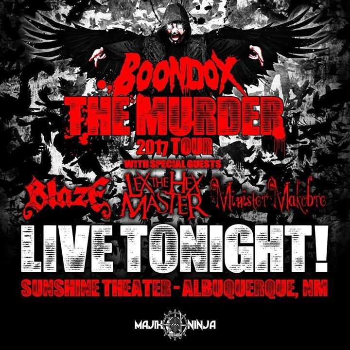 Boondox The Scarecrow @ The Agora Ballroom - Cleveland, OH