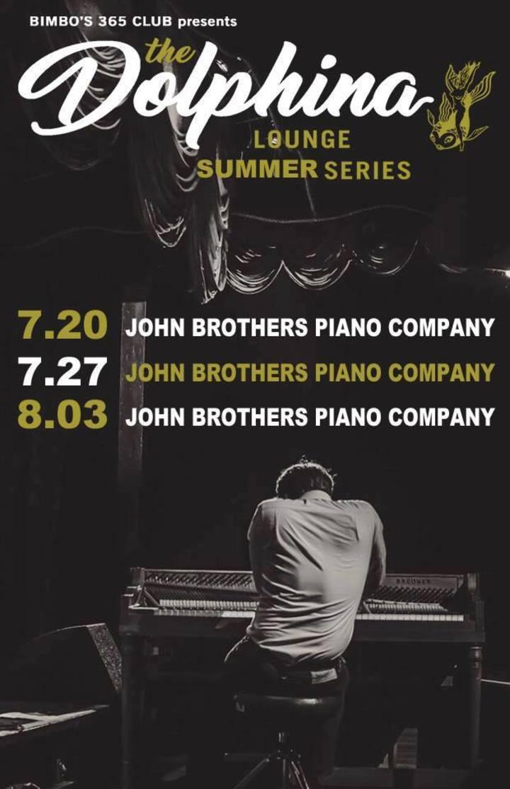 John Brothers Piano Company Tour Dates
