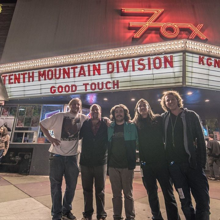Tenth Mountain Division Tour Dates