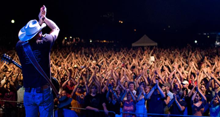 Kevin Fowler @ Bayou Fest - La Marque, TX