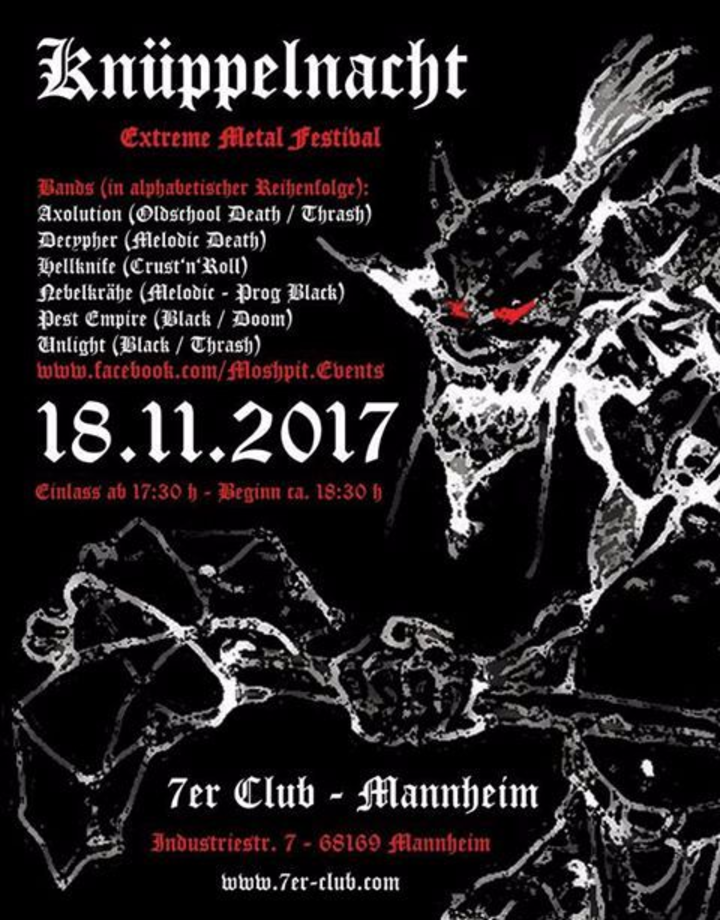 Unlight @ 7er Club - Mannheim, Germany