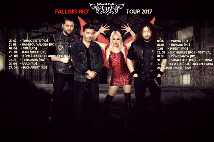 Scarlet Aura Tour Dates