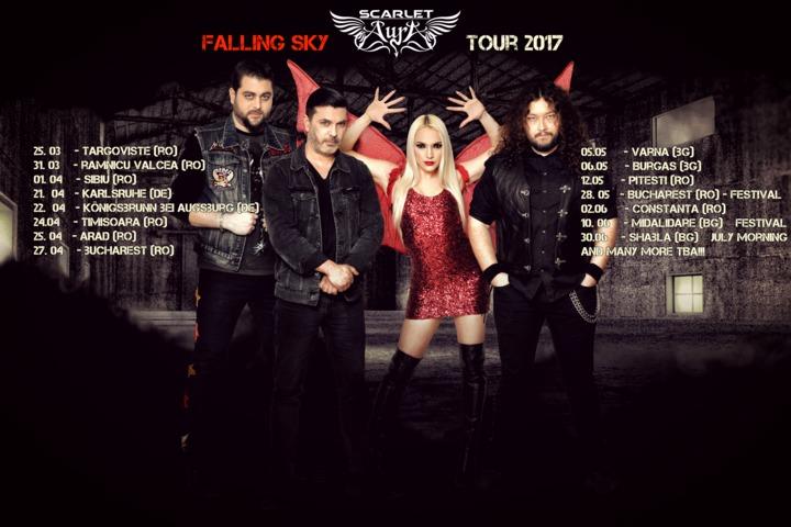 Scarlet Aura Tour Dates