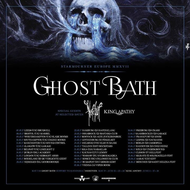 Ghost Bath Tour Dates