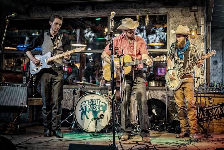 Jomo & The Possum Posse @ Water Trough Bar @ Lone Star Court - Austin, TX