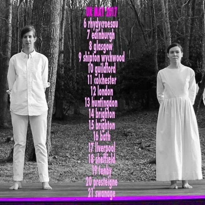Anna & Elizabeth Tour Dates