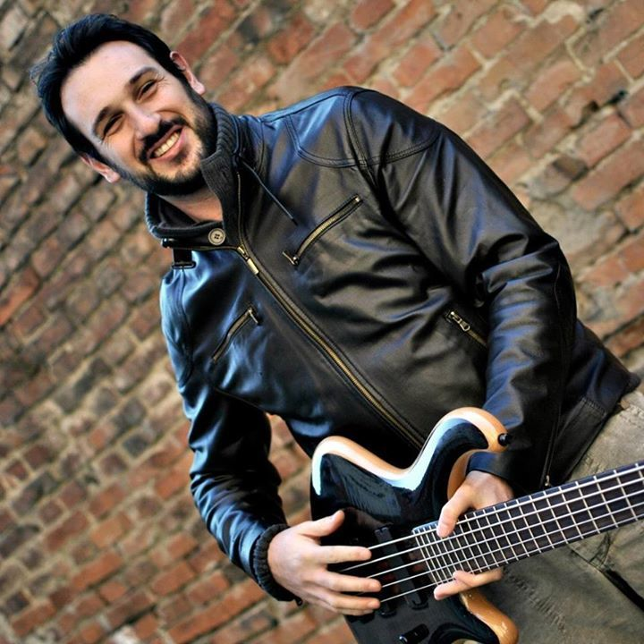Luca Nicolasi MMI Bass Lessons @ ACIDI C at Gasoline - Ravenna, Italy