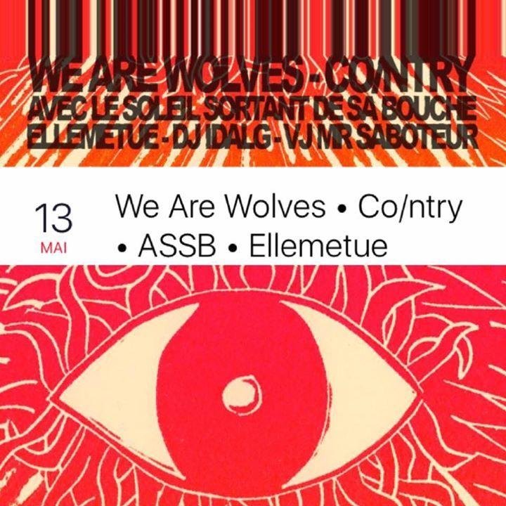 We Are Wolves @ Le Sous-Bois - Saguenay, Canada