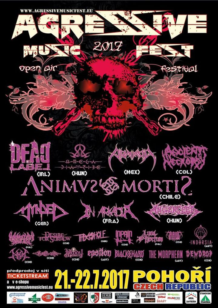Omega Diatribe @ Agressive Metal Festival - Pohori, Czech Republic