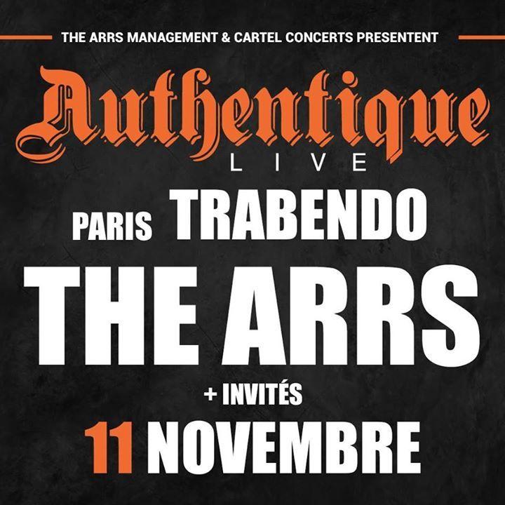 The Arrs @ C.C.J. Moulin - Limoges, France