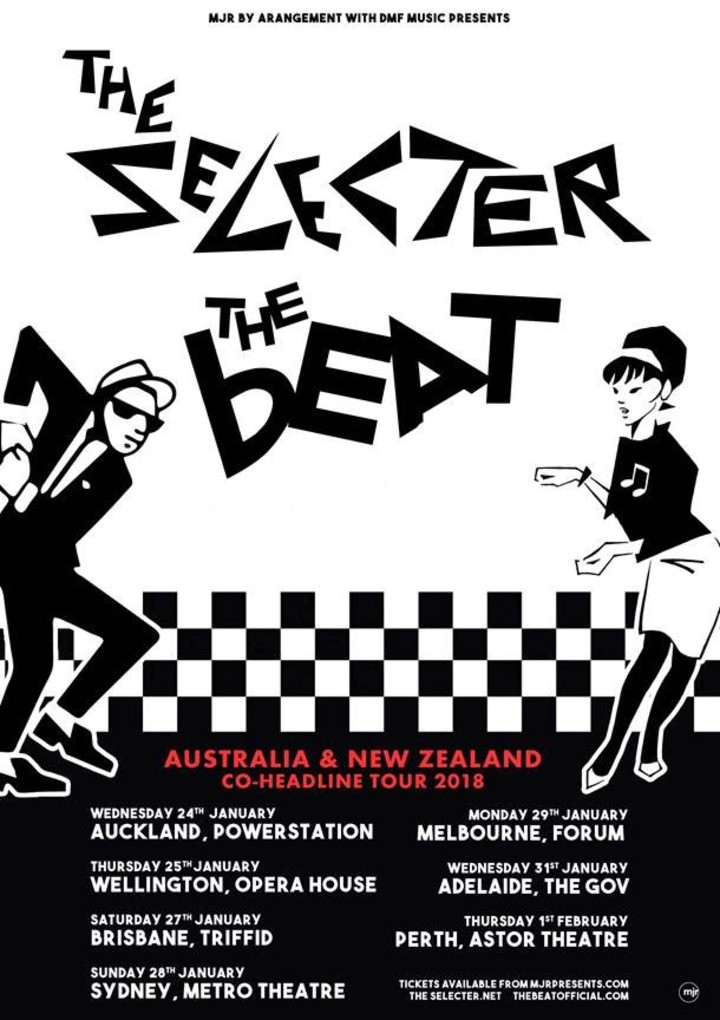 The Beat @ The Powerstation - Auckland, New Zealand