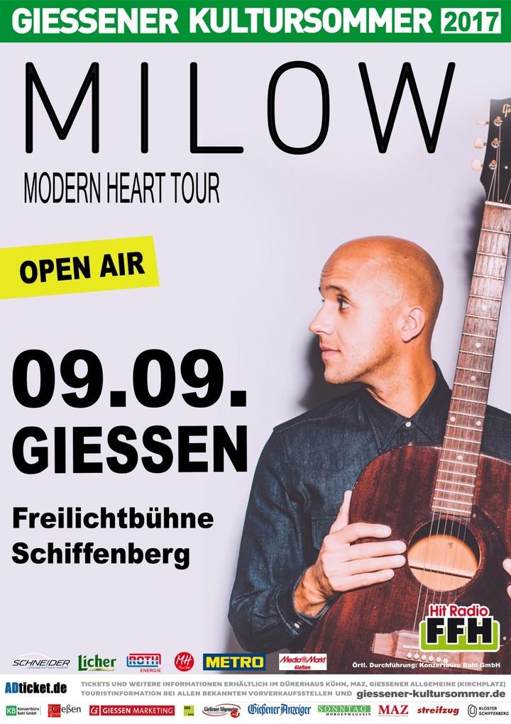 Milow @ GIESSEN - Giessen, Germany