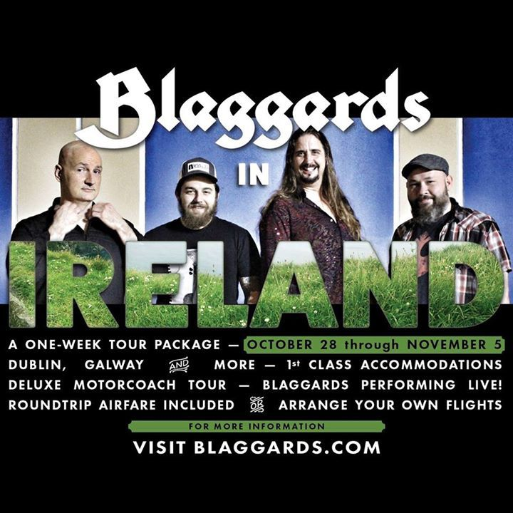 Blaggards Tour Dates