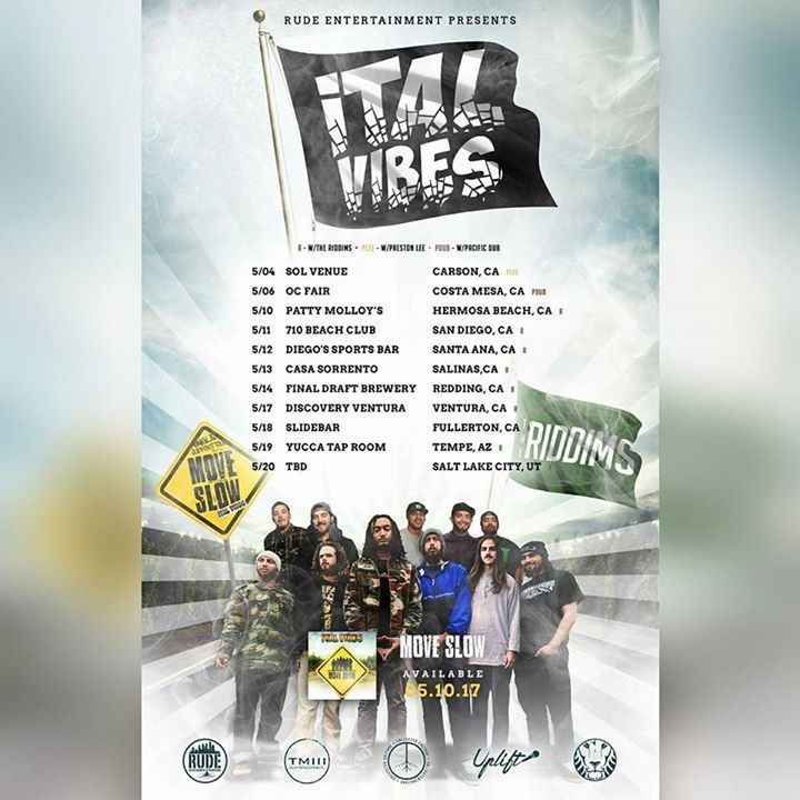 Ital Vibes Tour Dates