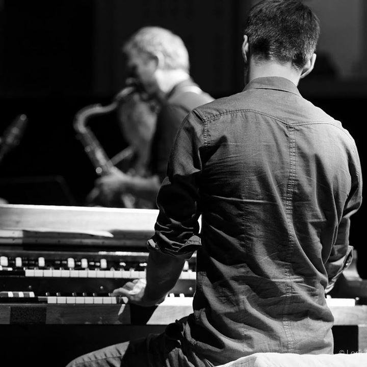 Matthieu Marthouret @ BOUNCE TRIO feat. Serge Lazarevitch @ RADIO FRANCE Jazz Sur Le Vif - Paris, France