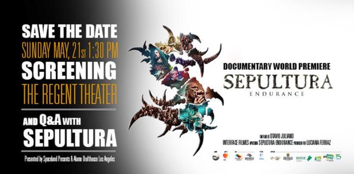 Sepultura @ The Regent Theater - Los Angeles, CA