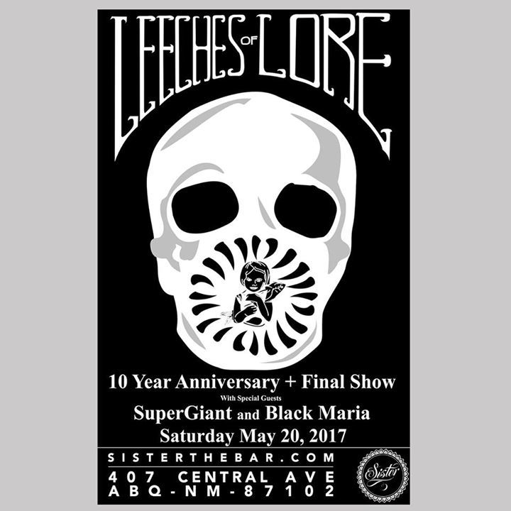 Leeches of Lore Tour Dates
