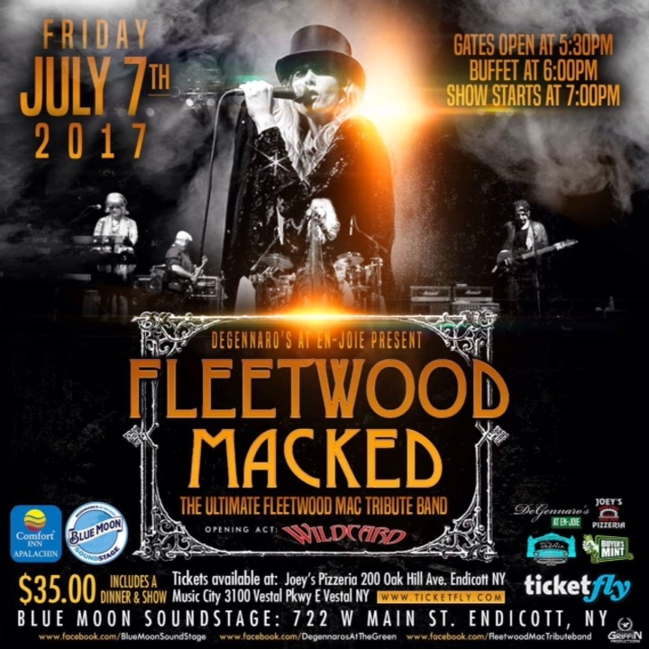 Fleetwood Macked @ Blue Moon Sound Stage - Endicott, NY
