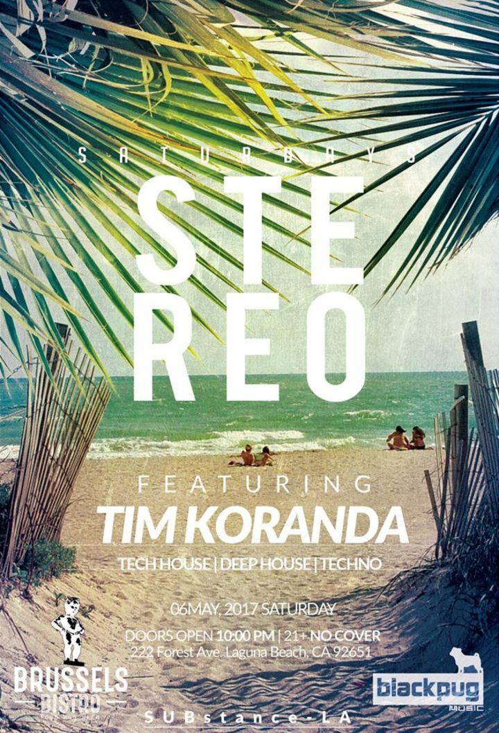 Tim Koranda Tour Dates