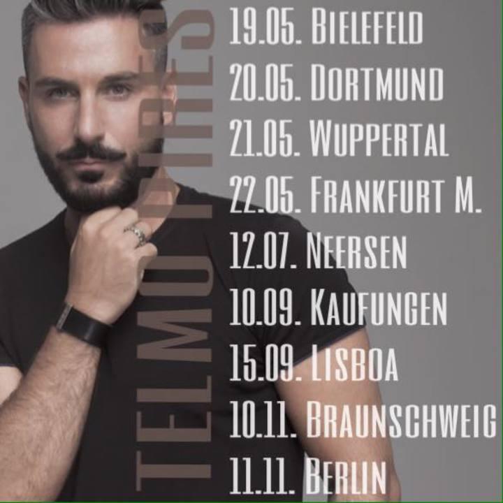 Telmo Pires Tour Dates