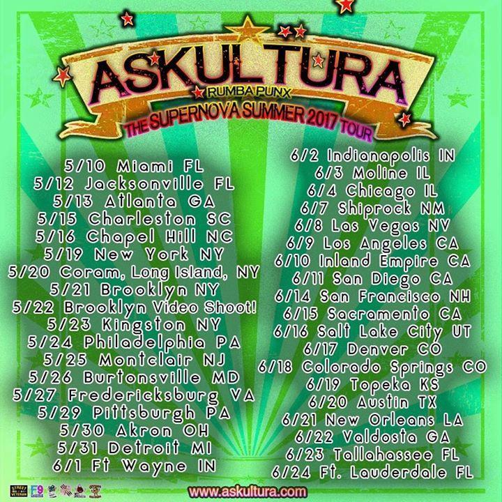 Askultura Tour Dates