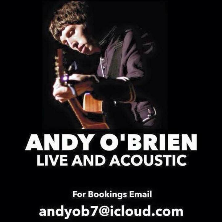 ANDY O'BRIEN LIVE AND ACOUSTIC Tour Dates