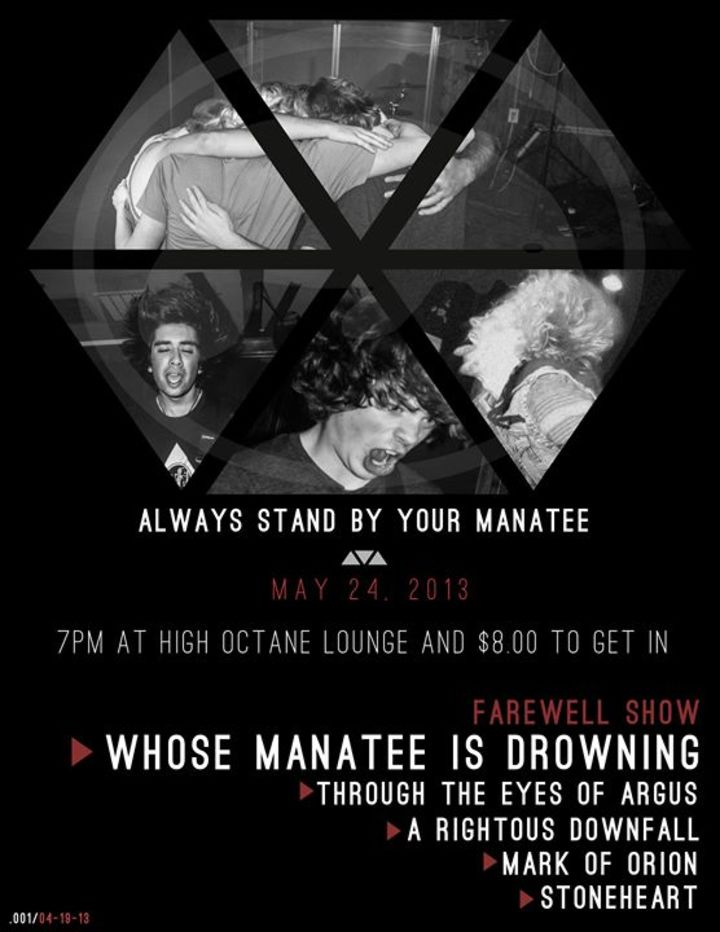 Whose Manatee is drowning Tour Dates