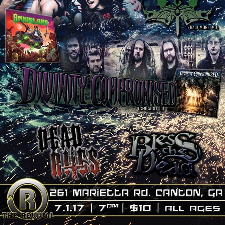 Dead Rites Tour Dates
