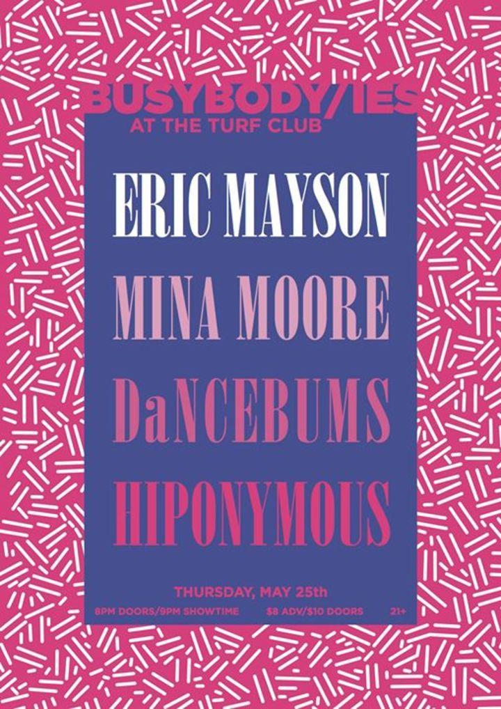 Eric Mayson Tour Dates