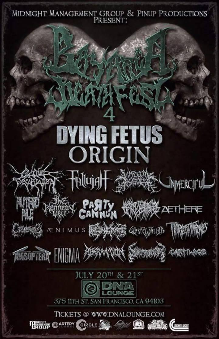 Aberration Tour Dates