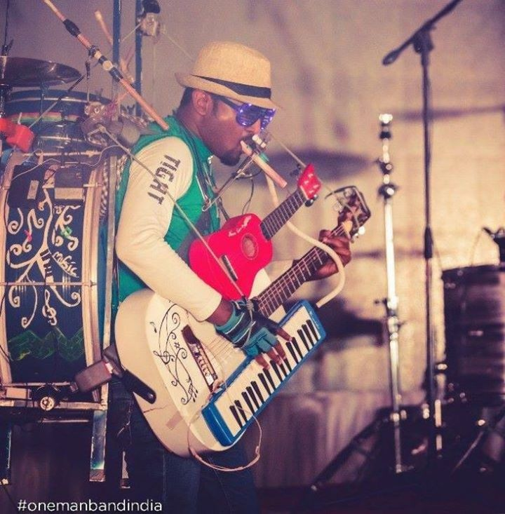 Gladson Peter - One Man Band Tour Dates