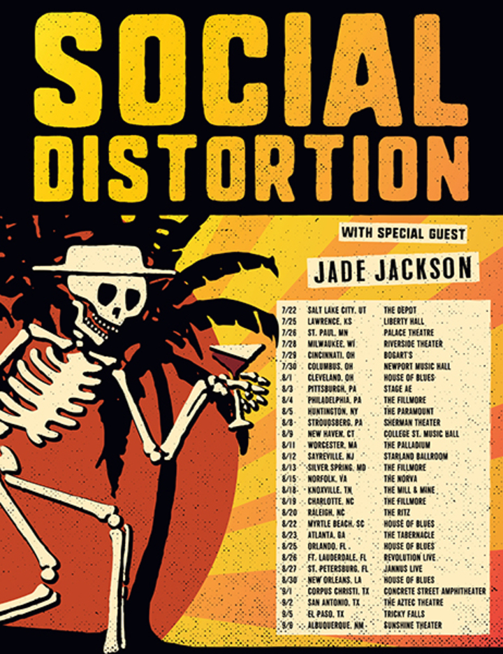 Social Distortion @ Jannus Live - St. Petersburg, FL