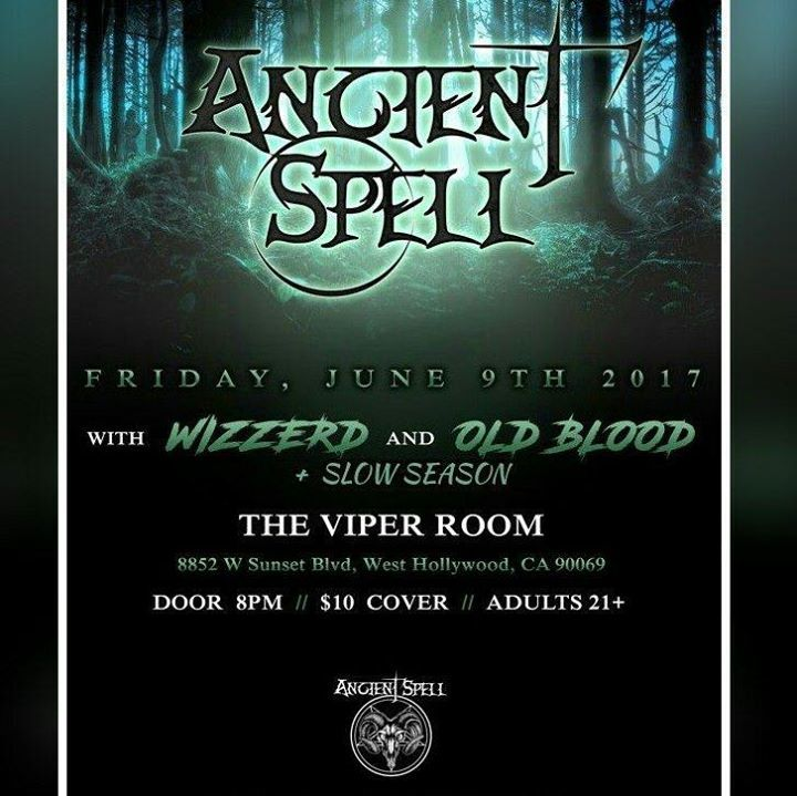 Ancient Spell Tour Dates