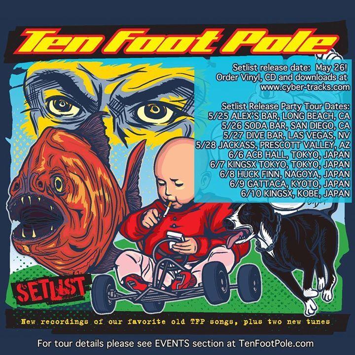 Ten Foot Pole Tour Dates