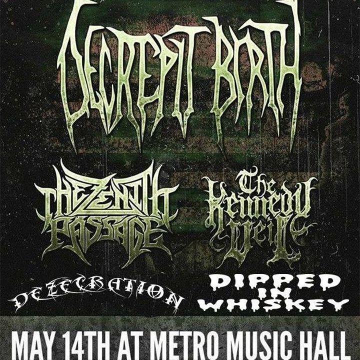 Dezecration Tour Dates