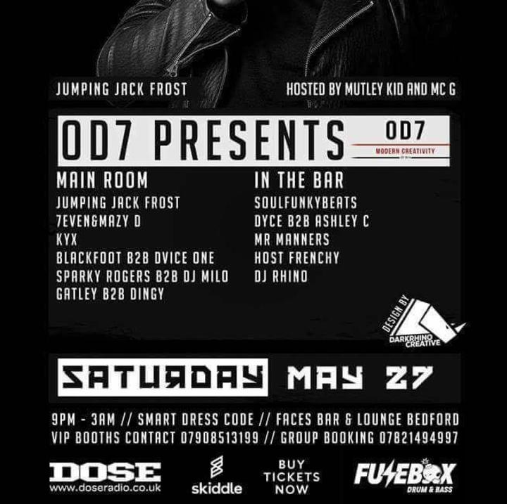 DJ Blackfoot Tour Dates