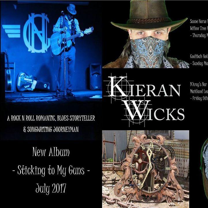 Kieran Wicks Tour Dates