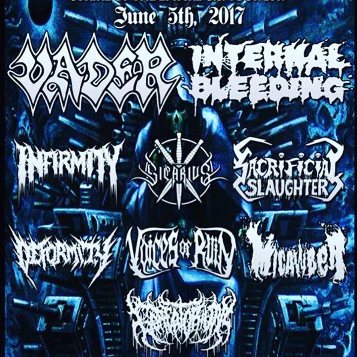 Goreatorium Tour Dates