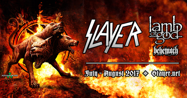 Slayer @ SMS Equipment Stadium - Fort Mcmurray, Canada