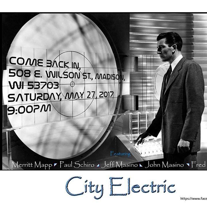 City Electric Tour Dates