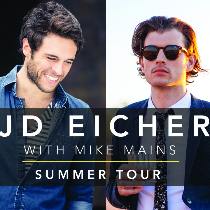 JD Eicher @ Shank Hall (w/band+Mike Mains+Matt Brown, 8pm) - Milwaukee, WI