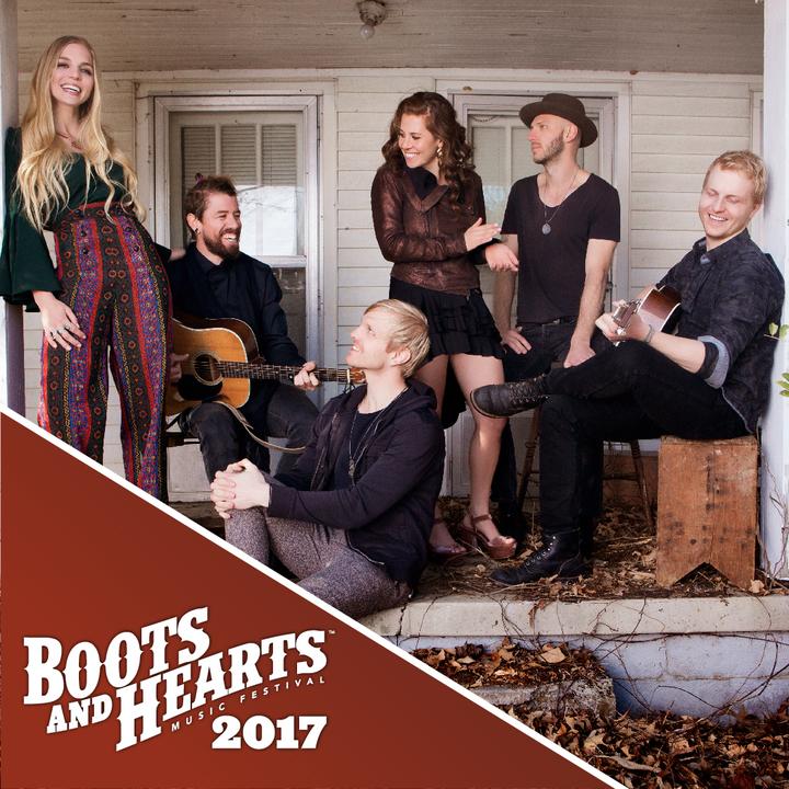 Delta Rae @ Boots and Hearts Music Festival - Oro-Medonte, Canada