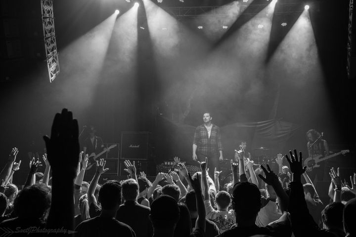 Adelitas Way @ Throne Theatre  - Wilmington, NC