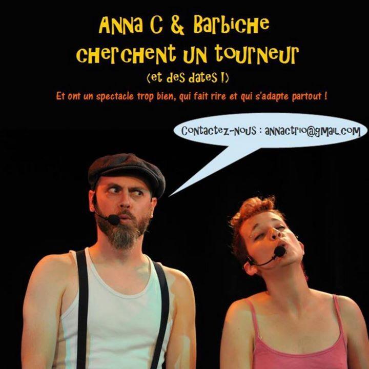 Anna C et Barbiche Tour Dates