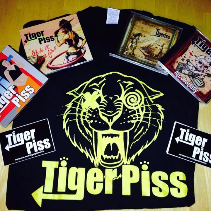 Tiger Piss Tour Dates
